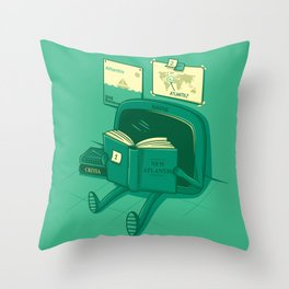 I will find the way! Throw Pillow