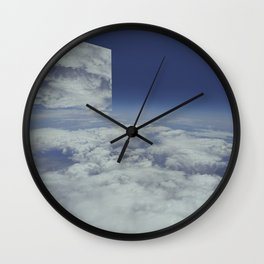 Mirrors relections_2 Wall Clock