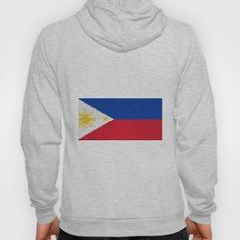 Extruded flag of the Philippines Hoody