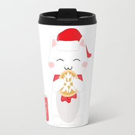 Happy Cat Travel Mug