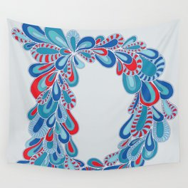 Letter D Wall Tapestry