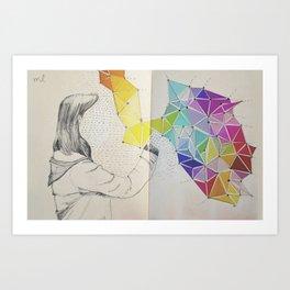Galaxy Creator Art Print