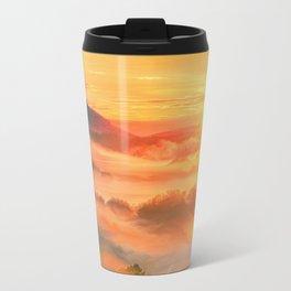 Sunset before Travel Mug