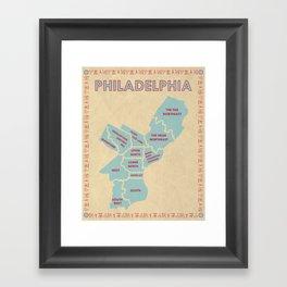 Philadelphia, Pennsylvania Framed Art Print