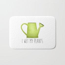 I Wet My Plants Bath Mat