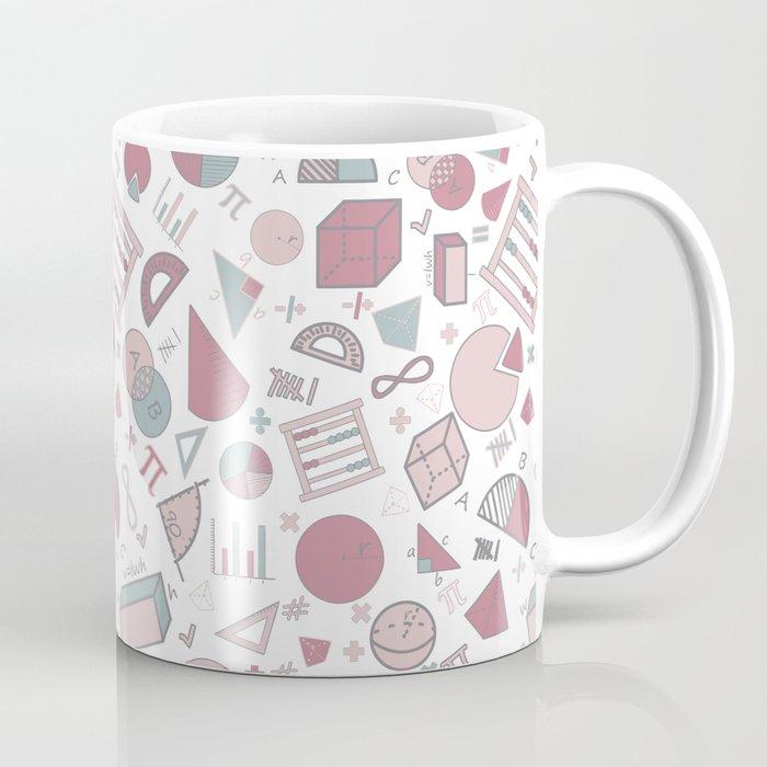 Math on White Coffee Mug