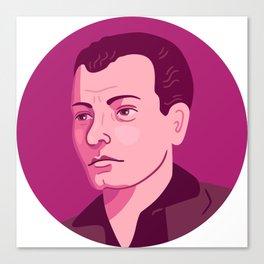 Queer Portrait - Harry Hay Canvas Print
