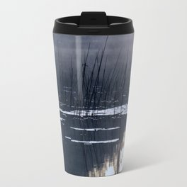 Mists on the Water Travel Mug