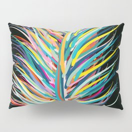 Rainbow Feather Peaceful Design Pillow Sham