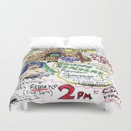Kount Kracula's Review Showcase -TV Show Promo Poster #2 Duvet Cover