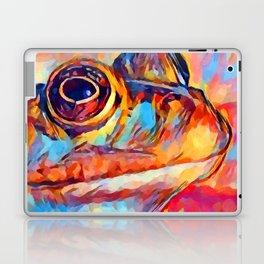 Frog Watercolor Laptop & iPad Skin