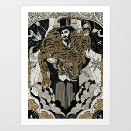 The tamer Art Print