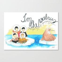 Les Petits - I'm The Walrus Canvas Print