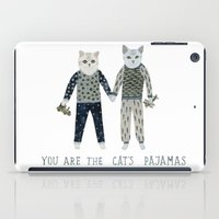 toddler iPad Cases featuring You are the Cat's Pajamas by Yuliya