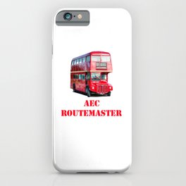 AEC Routemaster London Bus iPhone Case