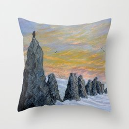 Sentinels Throw Pillow