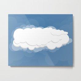Cloud Nine Metal Print