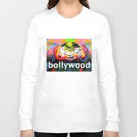 cyberpunk Long Sleeve T-shirts featuring Bollywood Cyberpunk by BOLLYWOOD