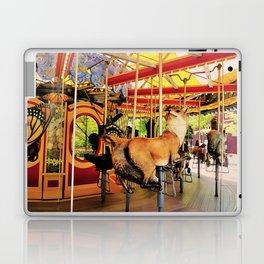Fox Carousel Boston Greenway Carnival Merry-go-round Laptop & iPad Skin