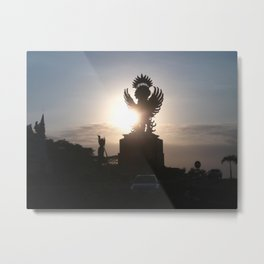 Garuda Indonesia Metal Print