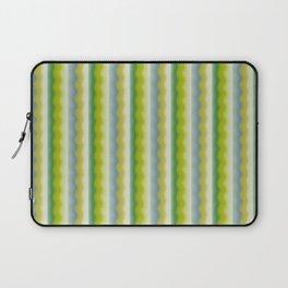 Green Waves Laptop Sleeve
