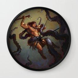 Barbarian vs Kraken Wall Clock