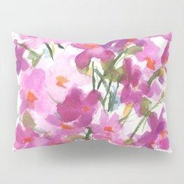Pink Cosmos Bouquet Pillow Sham