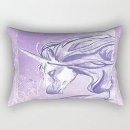 PURPLE UNICORN Rectangular Pillow