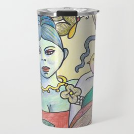 A bird in hand is worth two in the bush Travel Mug