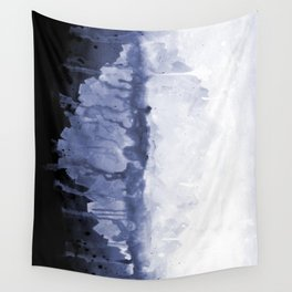Paint 5 abstract water ocean arctic iceberg nature ocean sea abstract art drip waterfall minimal  Wall Tapestry