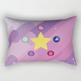 The Crystal Gems Rectangular Pillow