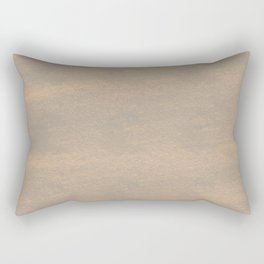 Chalky background - brown Rectangular Pillow