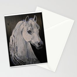Ghost Horse Stationery Cards