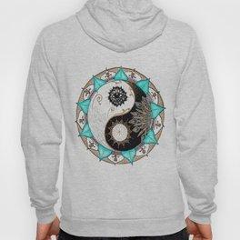 Yin and Yang Mandala Hoody