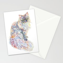 Siberian Forest Cat - Mowgli Stationery Cards