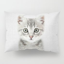 Kitten - Colorful Pillow Sham
