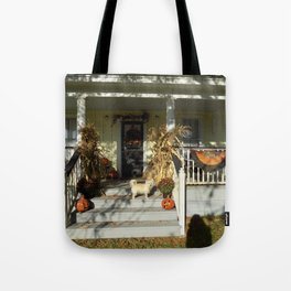A Country Halloween Tote Bag