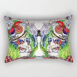 The rocking horse Rectangular Pillow