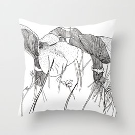 Mild Milkcap Mushrooms Throw Pillow