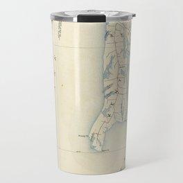 Vintage Annapolis MD & Chesapeake Bay Map (1902) Travel Mug