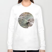 allyson johnson Long Sleeve T-shirts featuring Johnson Canyon rocks by RMK Creative