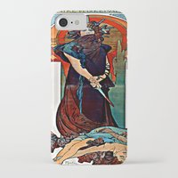 mucha iPhone & iPod Cases featuring Alfons Mucha - Medea by Ouijawedge