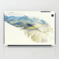 feather iPad Cases featuring Feather by Kiki collagist