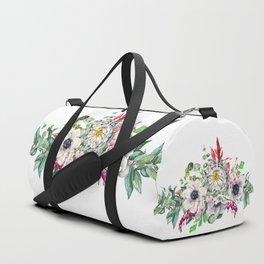 Gentille set 13 watercolor handpainted clipart, floral, flower, design, stylish, wedding, invitation Duffle Bag