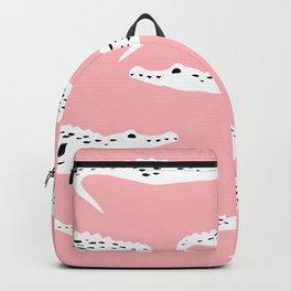 Crocodile Pattern Backpack