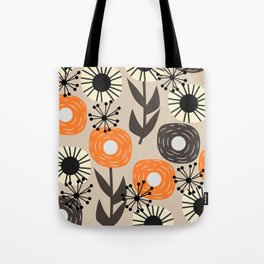 Some happy flowers Tote Bag