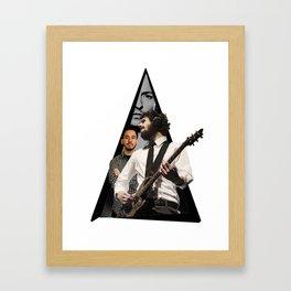 Youtriangle ∆ LinkinPark Framed Art Print