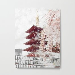 Taito City, Tokyo Metal Print