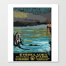 National Parks 2050: Everglades Canvas Print