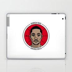 Derrick Rose Badge Illustration Laptop & iPad Skin